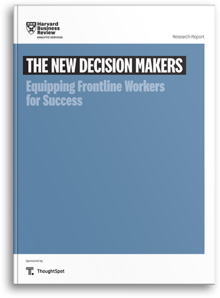 HBR REPORT - NEW DECISION MAKERS