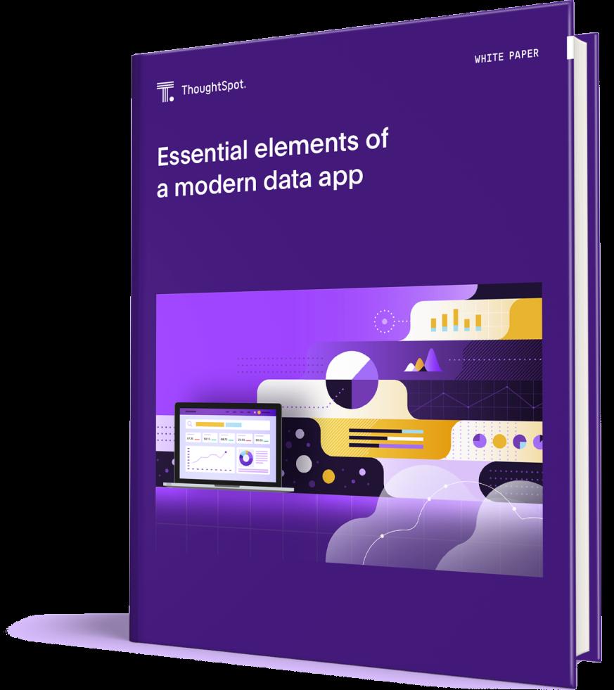 Essential elements of a modern data app