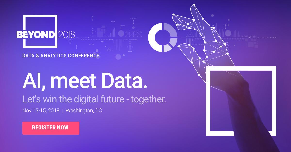 Beyond 2018 | Data & Analytics | Nov 13-15th | ThoughtSpot
